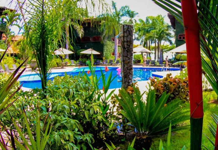 pool villa in Jaco